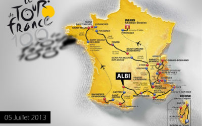 Le Tour de France à ALBI