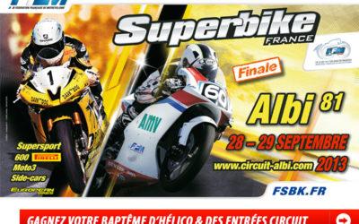 Championnat de France Superbike à Albi