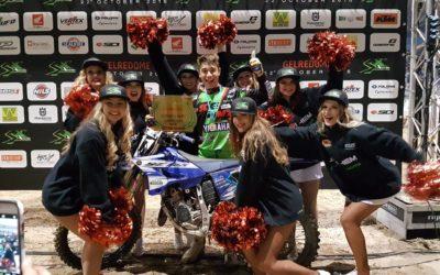 Calvin Fonvieille sacrée Champion d'Europe 125cc SX