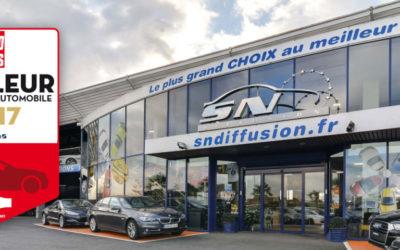 SN Diffusion élu meilleur distributeur automobile 2017
