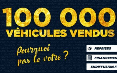 SN Diffusion 1000.000 véhicules vendus !