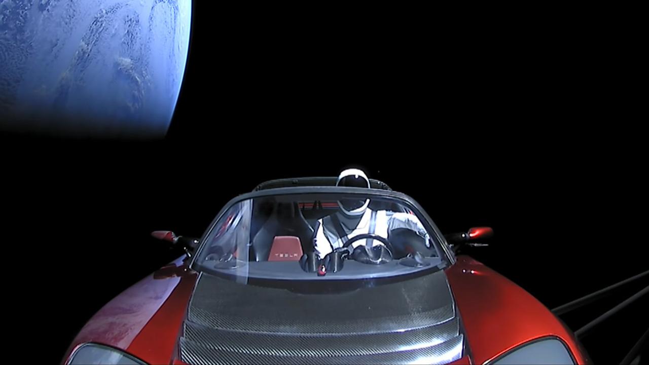La Tesla Roadster : Première voiture dans l'espace