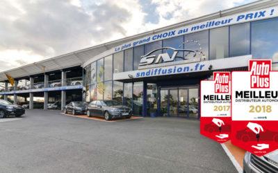 SN Diffusion, meilleur distributeur automobile 2018