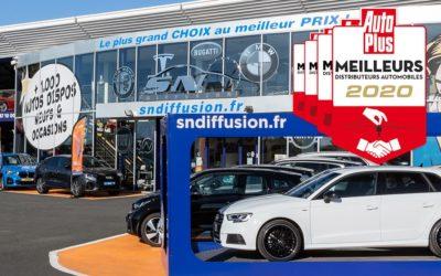 SN Diffusion, meilleur distributeur automobile 2020