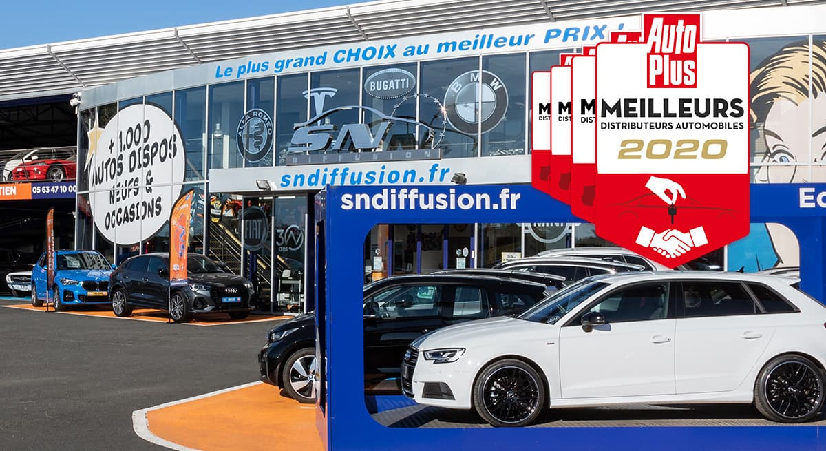 SN Diffusion, <strong>meilleur distributeur automobile 2020</strong>