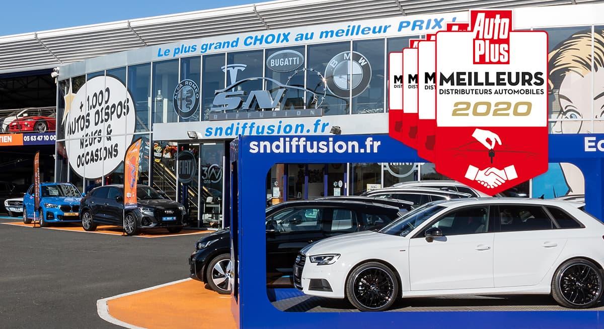Meilleur Distributeur Auto 2020
