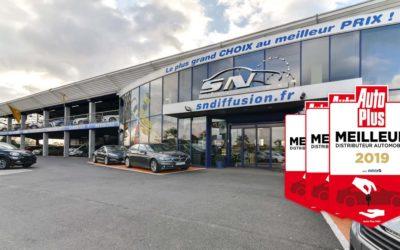 SN Diffusion, meilleur distributeur automobile 2019