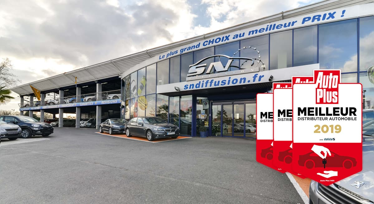 SN Diffusion, <strong>meilleur distributeur automobile 2019</strong>