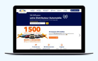 Un nouveau site internet pour SN Diffusion